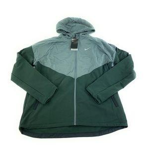 Nike Men's Therma Essential Dark Smoke Grey Running Jacket CV2238-084 Size Large